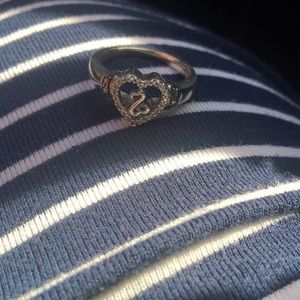 Zales Open Hearts Ring
